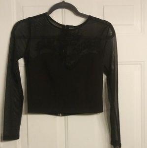 Cute black dress up top